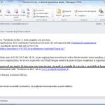 Email di registrazione